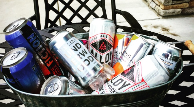 Wine In Cans For Summer!