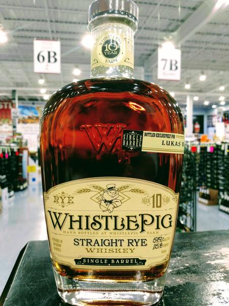 New WhistlePig Rye Single Barrel!