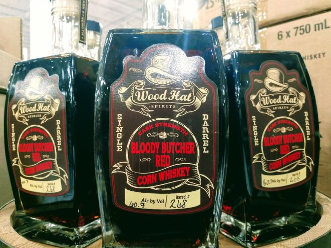 New Store Pick: Woodhat Bloody Butcher Red Corn Whiskey!