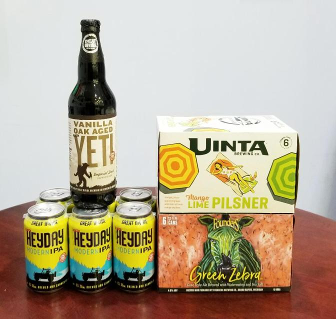 New Beer: Great Divide, Founders, Uinta