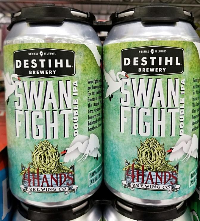Destihl / 4 Hands Swan Fight Double IPA
