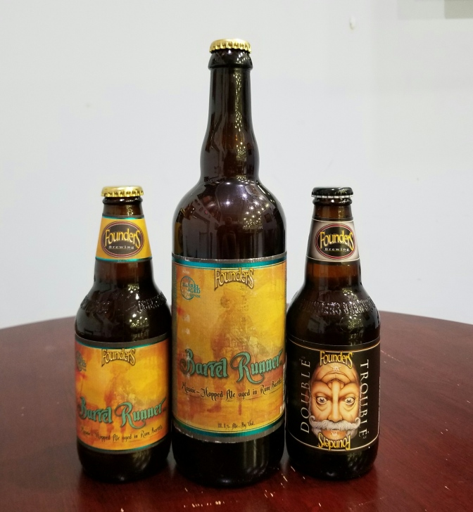 Founders Barrel Runner and Double Trouble