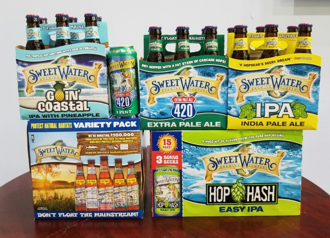 Sweetwater Brewing from Atlanta