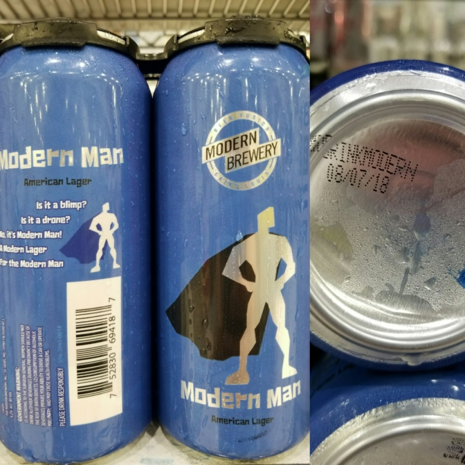 Modern Man Lager – Canned This Morning!