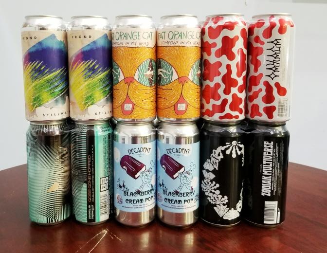 New Beer: Stillwater, Fat Orange Cat, Decadent, Omnipollo
