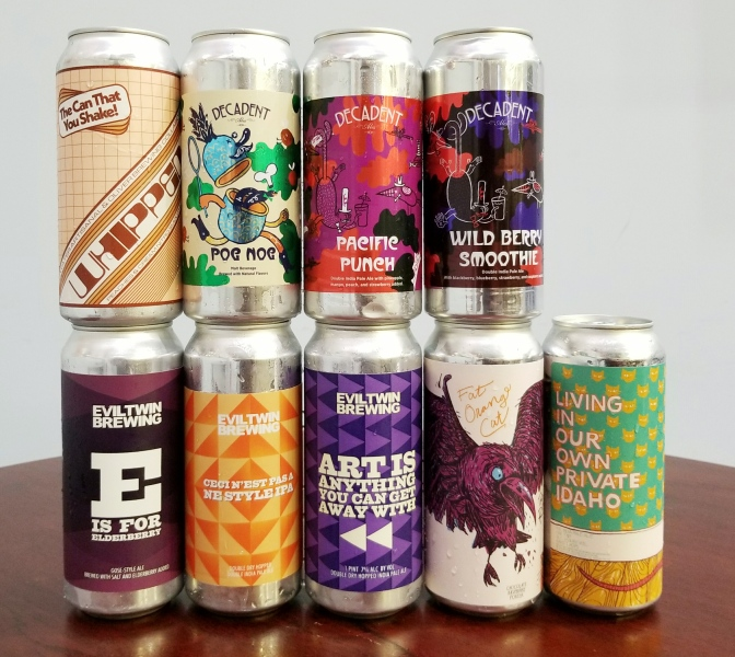 New Beer: Decadent, Stillwater, Evil Twin, Fat Orange Cat