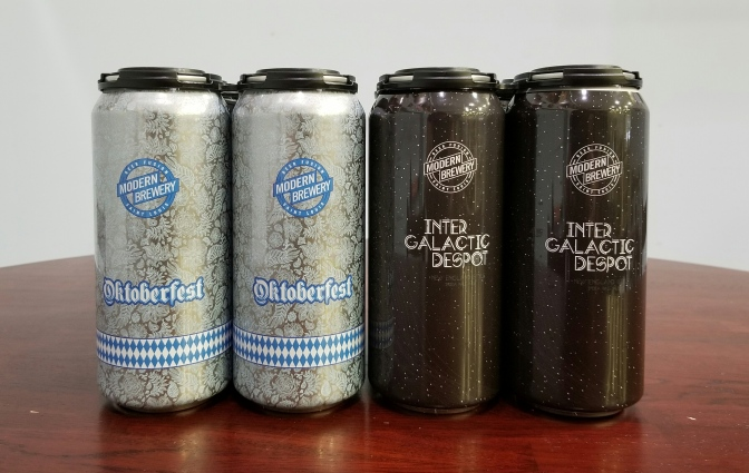 Two New Beers From Modern Brewery