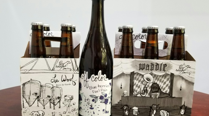 Three New Beers From Off Color