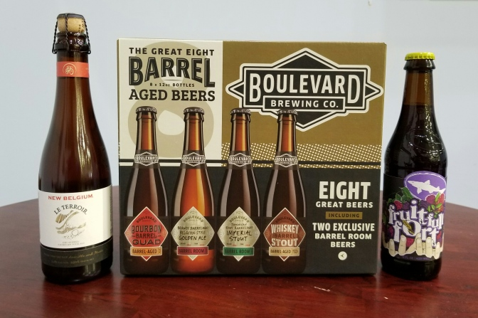 Rare Beers From New Belgium, Boulevard, and Dogfish Head
