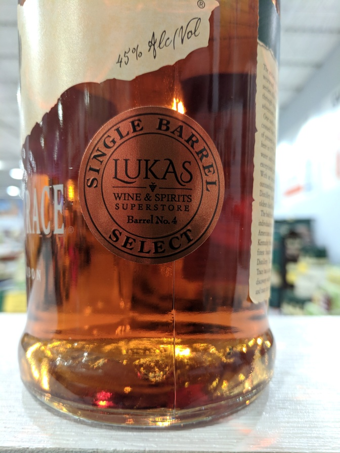 Buffalo Trace Lukas Single Barrel Release Party Tomorrow Night at the Bar!