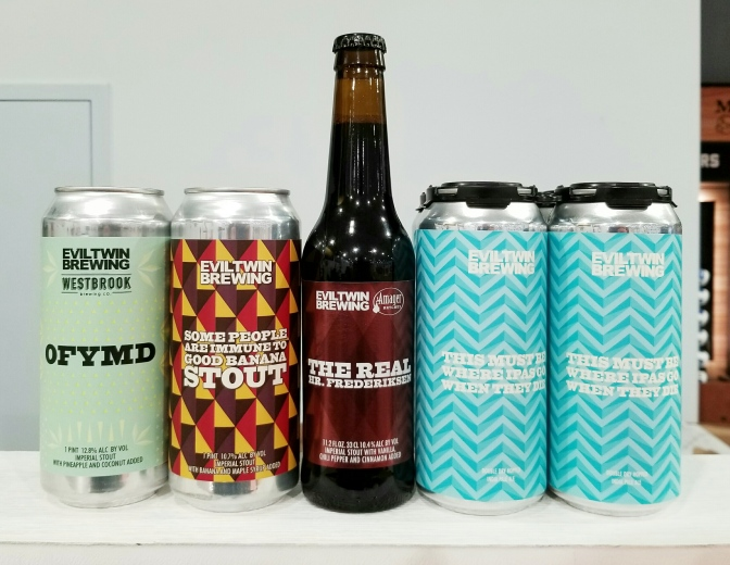 Four New Beers from Evil Twin