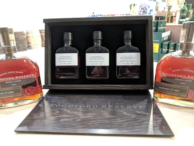 Woodford Reserve Double Oaked Lukas Store Pick Barrel Selection Event 10/18 at 6:30 PM