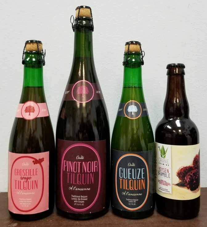 Sour Beers from Tilquin and Crane