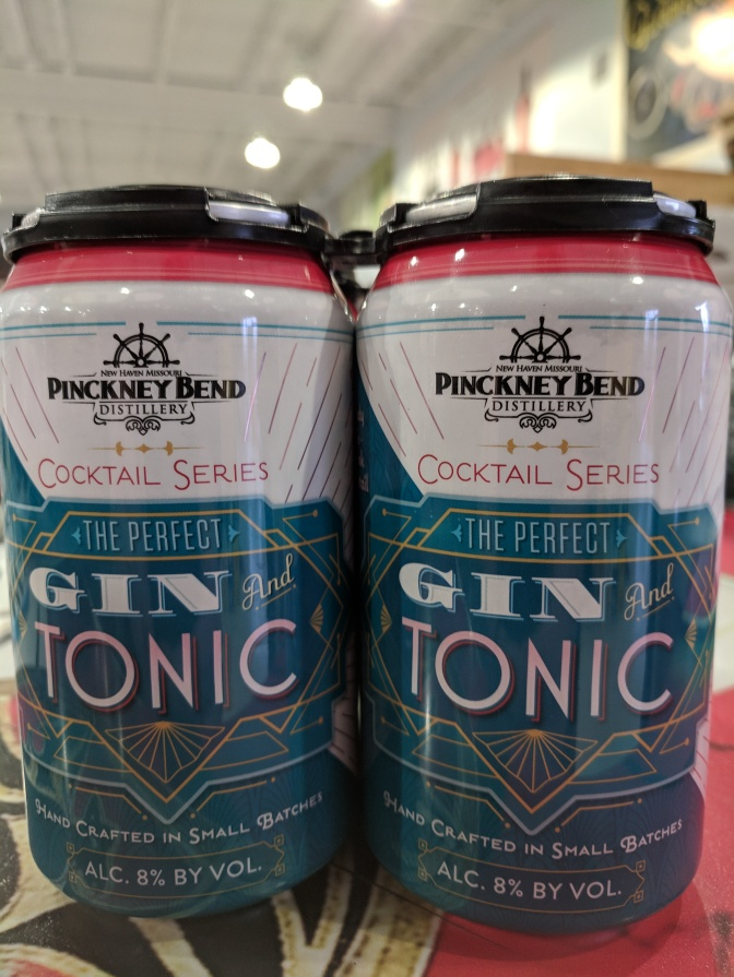 Pinckney Bend Gin and Tonic CANS Now in Stock