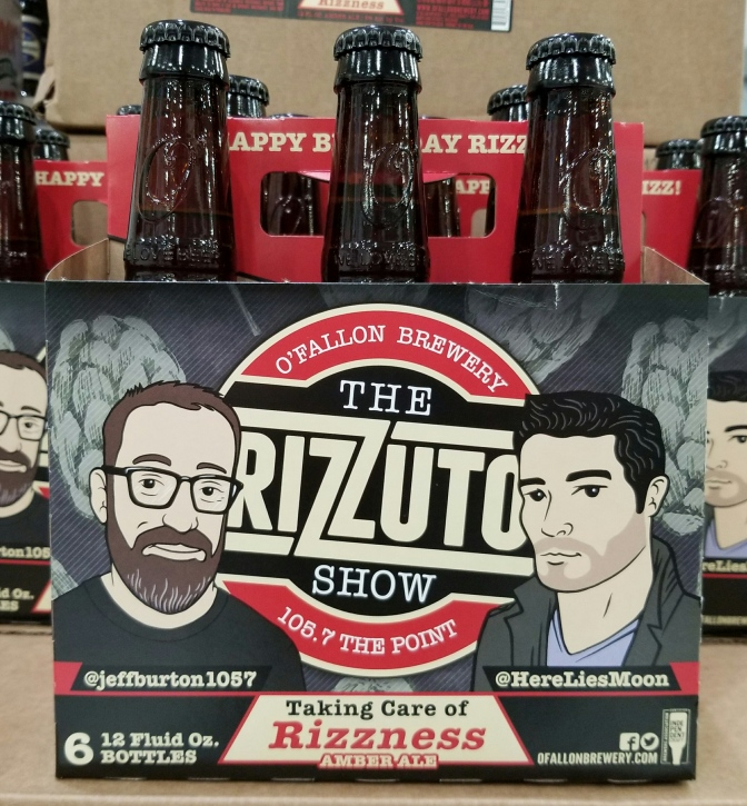O'Fallon Rizzuto Show Beer