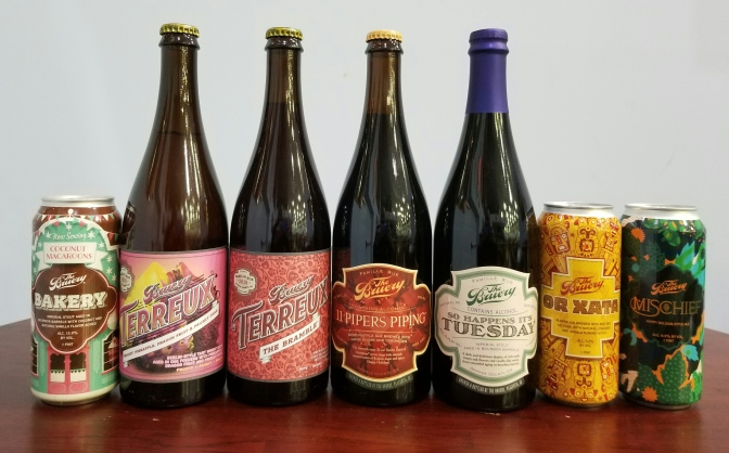 7 Beers From The Bruery