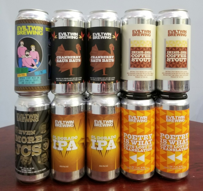 Six New or Returning Beers from Evil Twin