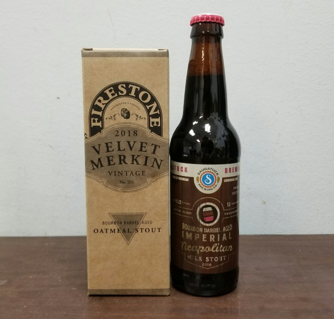 SOLD OUT – Barrel Aged Beers from Firestone Walker and Saugatuck