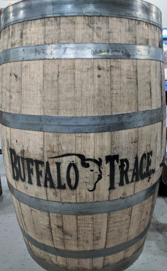 Enter to Win a Buffalo Trace Bourbon Barrel!