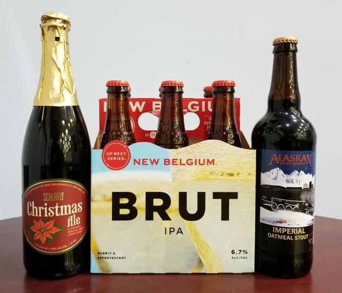 New Beer: Schlafly, New Belgium, Alaskan