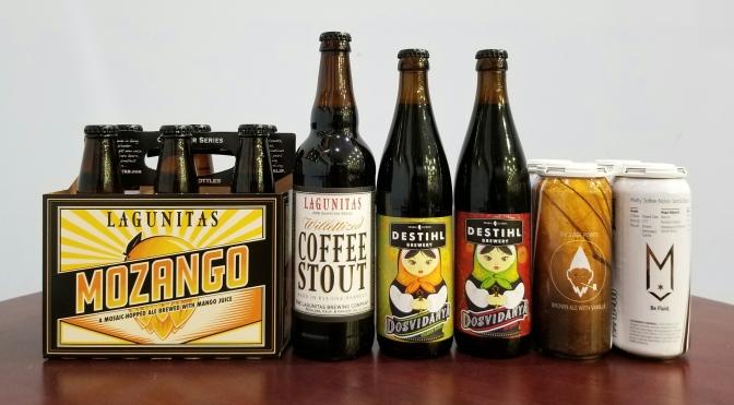 New Beer: Lagunitas, Destihl, Maplewood