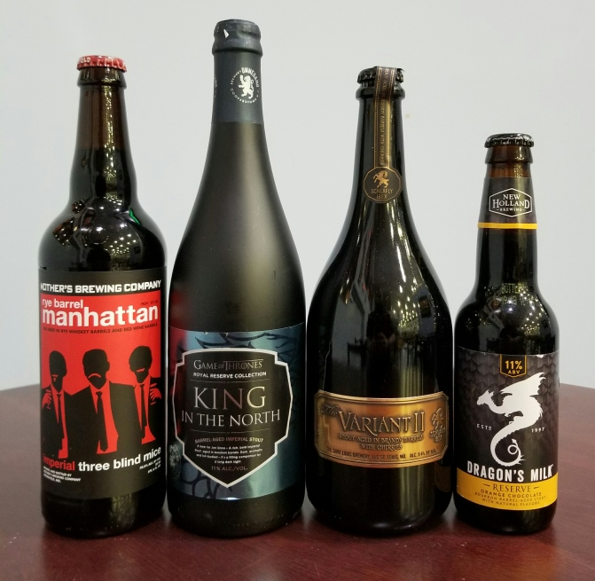 Barrel Aged Beers From Mother's, Ommegang, Schlafly, New Holland