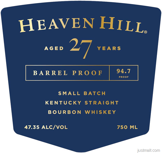 Heaven Hill 27 Year Bourbon – Special Release at the Bar this Saturday 12/15/18