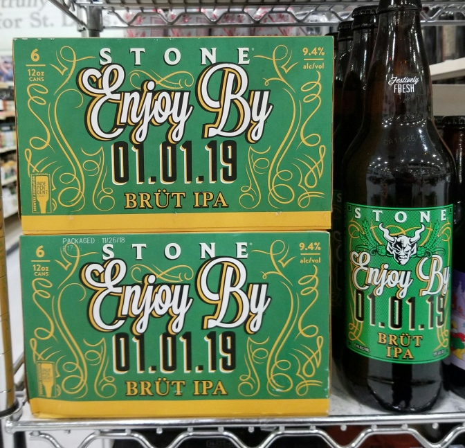 Stone Enjoy By 01.01.19 Brut IPA