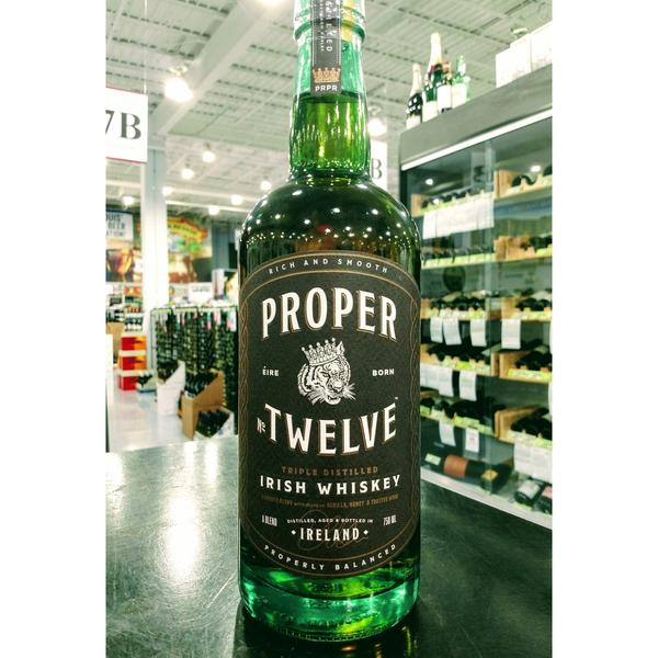 Back In Stock: Proper Twelve Irish Whiskey