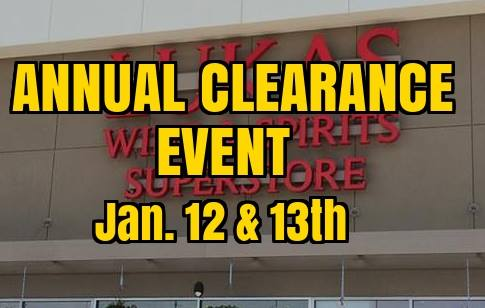 Annual Clearance Event!