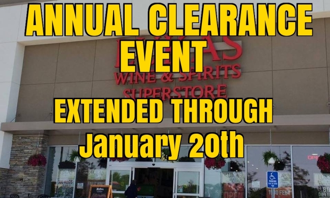 Clearance Sale EXTENDED!