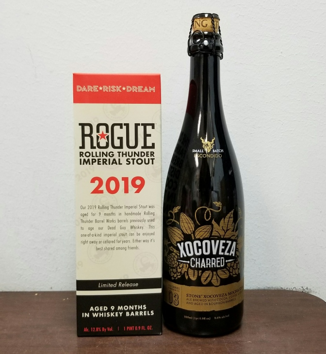 Barrel Aged Stouts from Rogue and Stone