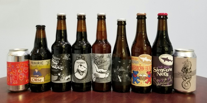 New Beer: Prairie, Off Color, Dogfish Head, Central State