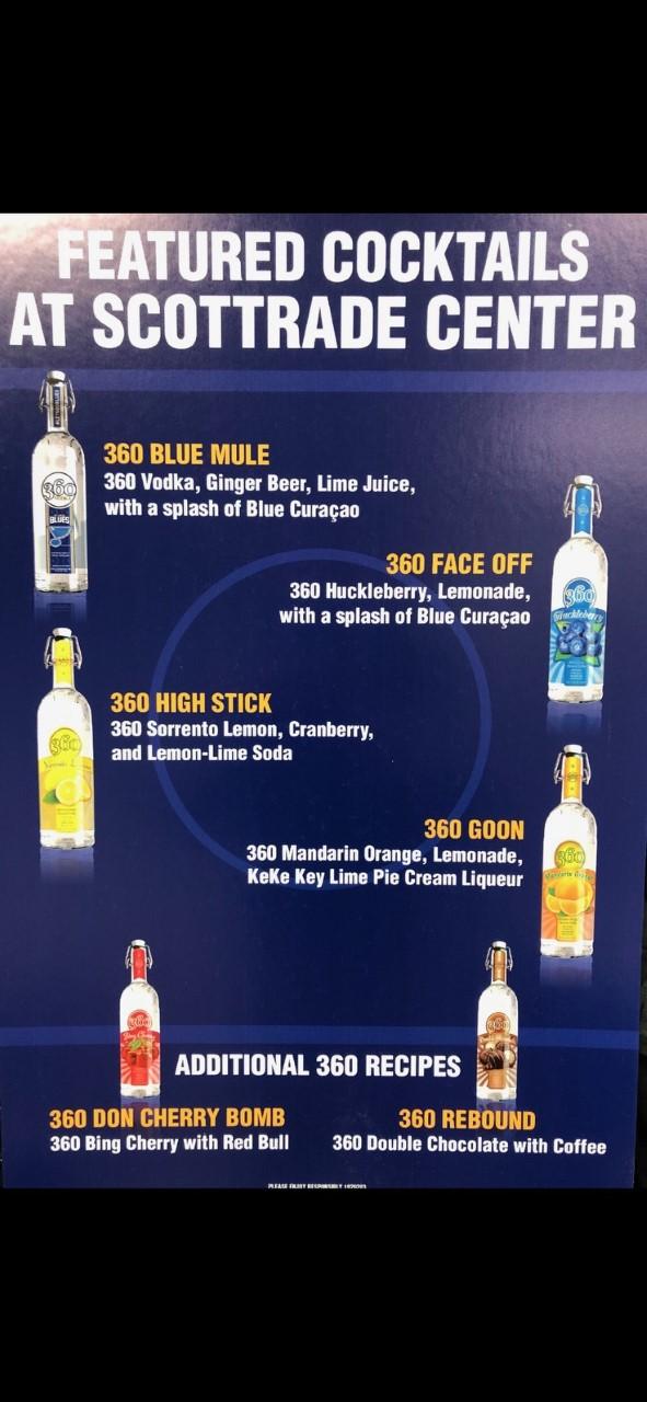 360 Cocktail Tasting Tonight!