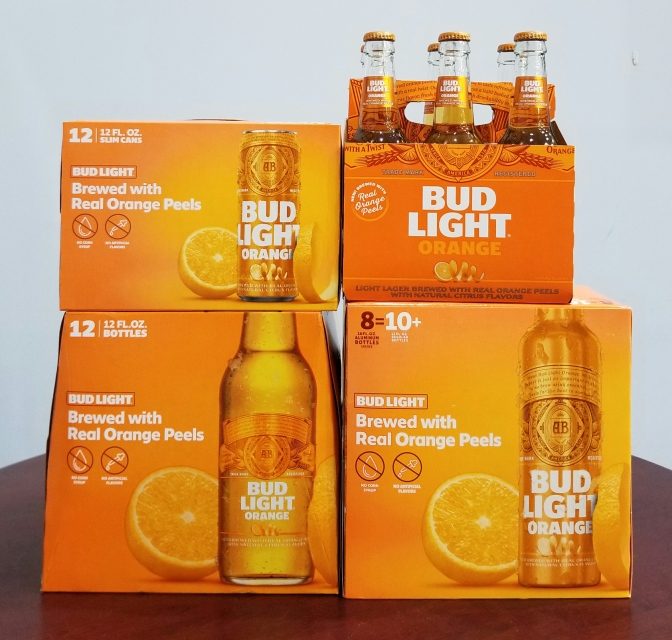 Bud Light Orange is Back