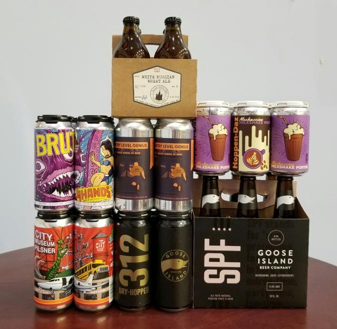 New Beer: 4 Hands, Schlafly, 2nd Shift, Bur Oak, Goose Island