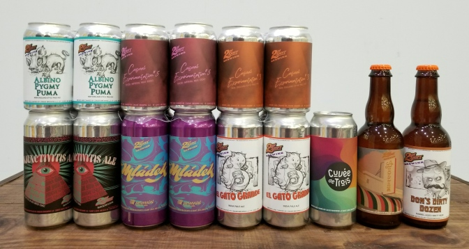 New and Returning 2nd Shift Beers