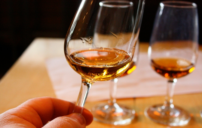 Build Your Own Whiskey Flight at The Bar Today 1-4 PM