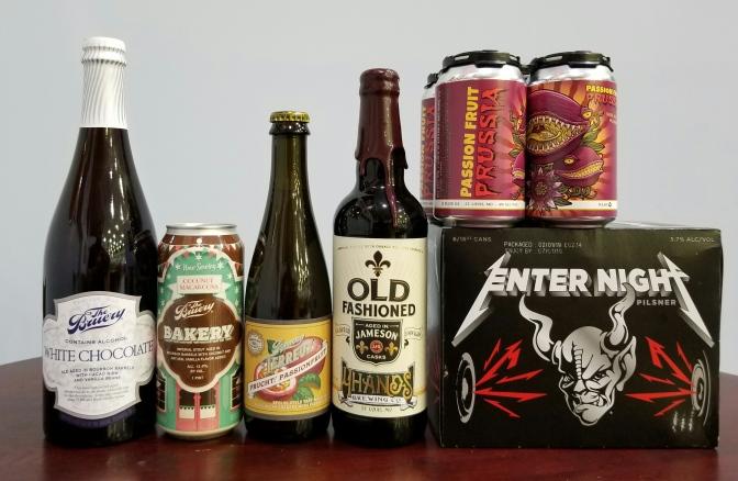 New Beer: Bruery, 4 Hands, Stone