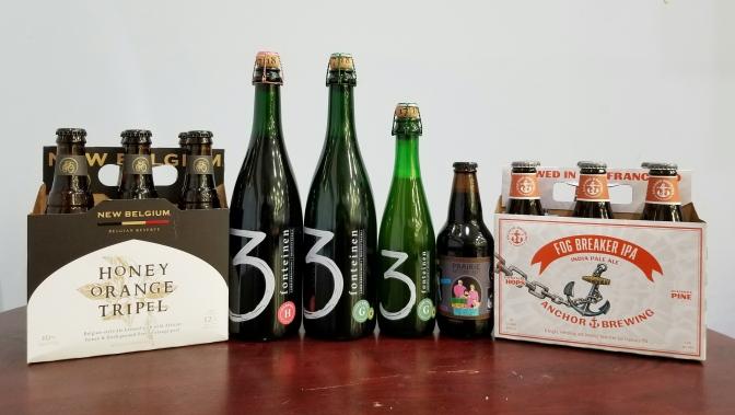 New Beer: Drie Fonteinen, Prairie, New Belgium, Anchor