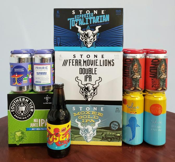 New Beer: Prairie, Stone, Southern Tier, Bur Oak