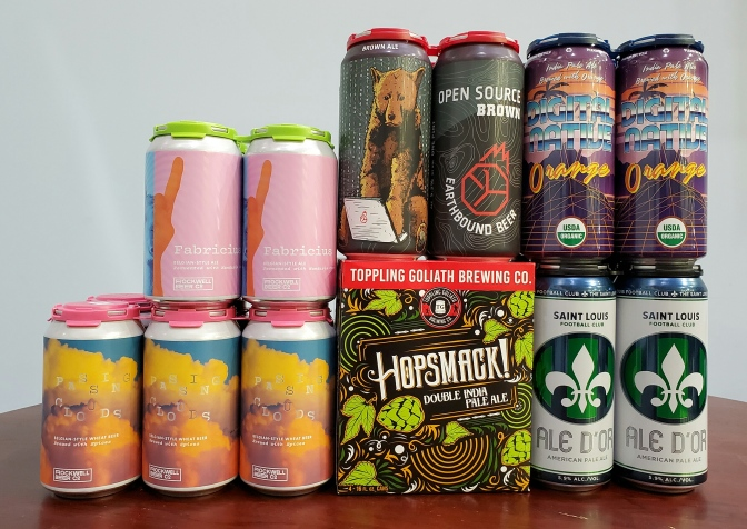 New Beer: Rockwell, Earthbound, Toppling Goliath, Schlafly, Old Bakery