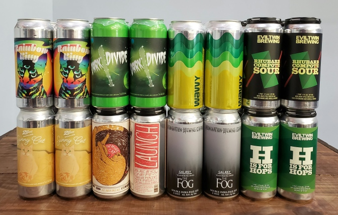 New Beer: 2nd Shift, Fat Orange Cat, Stillwater, Abomination, Evil Twin, Gigantic, Crane