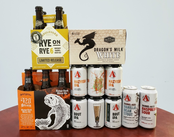 New Beer: Boulevard, New Holland, Sweetwater, Avery