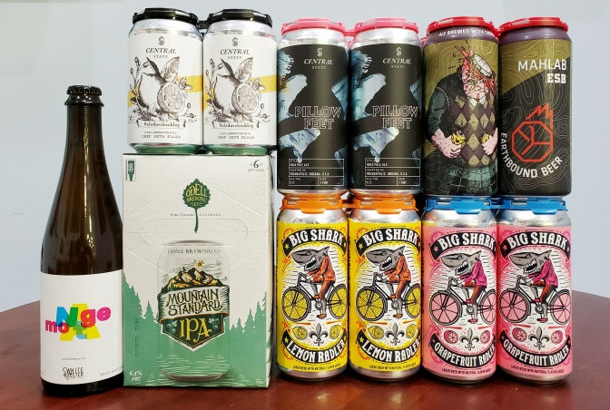 New Beer: White Rooster, Odell, Central State, Urban Chestnut, Earthbound