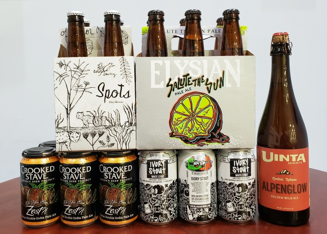 New Beer: Off Color, Crooked Stave, Elysian, Brew Link, Uinta