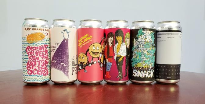 New Beer: Fat Orange Cat, Hoof Hearted, Abomination, Stillwater