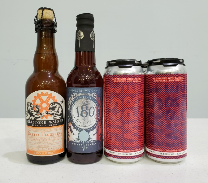 New Beer: Firestone Walker, Odell, 4 Hands