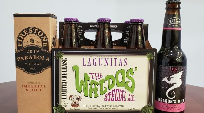 New Beer: Firestone Walker, Lagunitas, New Holland