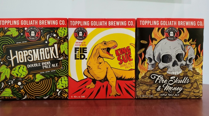Limited Edition Toppling Goliath IPAs Back in Stock